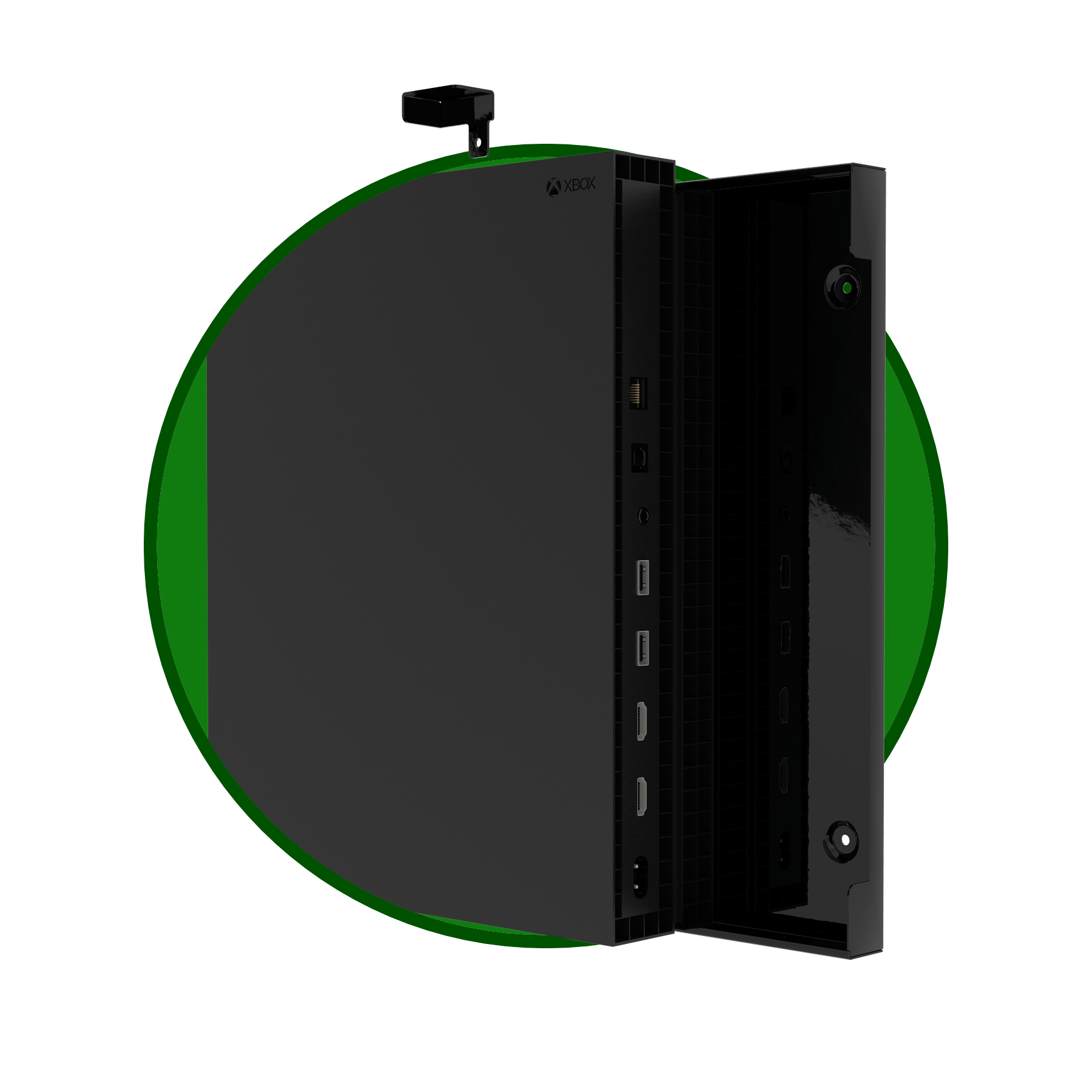 xbox one x wall mount forza designs. Black Bedroom Furniture Sets. Home Design Ideas