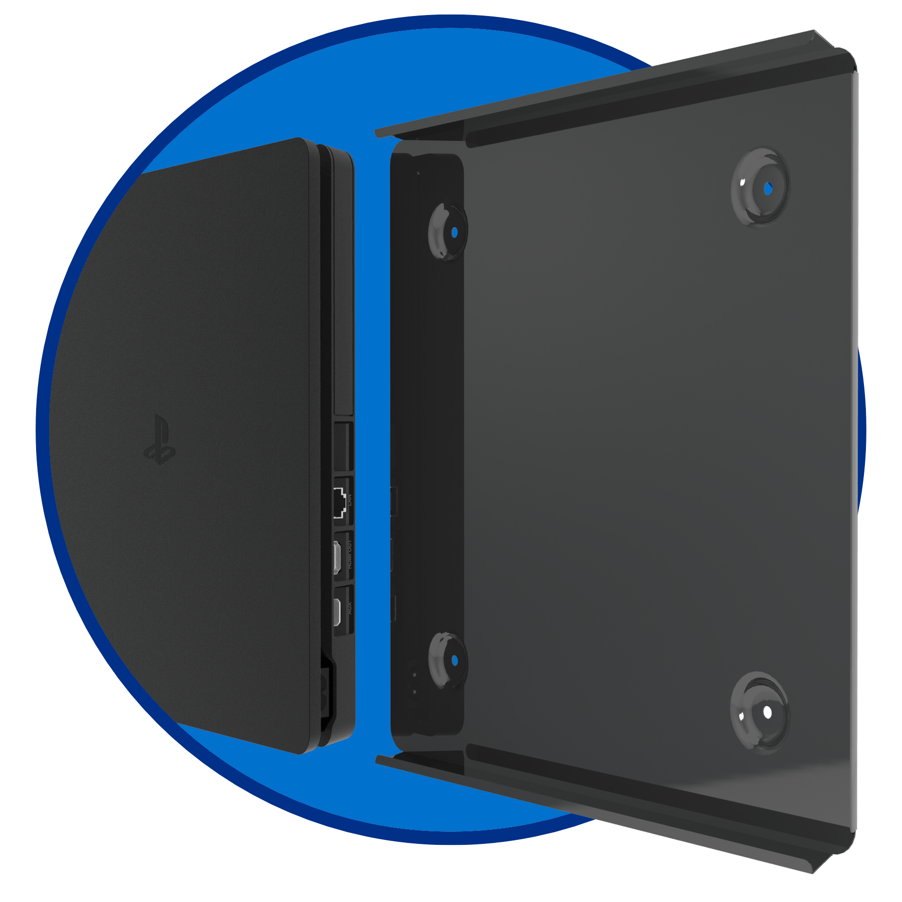 Ps4 Slim Wall Mount Forza Designs
